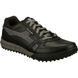 Men's Skechers Relaxed Fit Floater Down Time Black/Gray