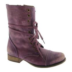 Women's Steve Madden Troopa Purple Leather