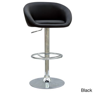 Chrome Pneumatic Gas Lift Adjustable Swivel Stool