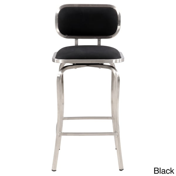 Somette Modern Swivel Counter Stool 16130522 Overstock
