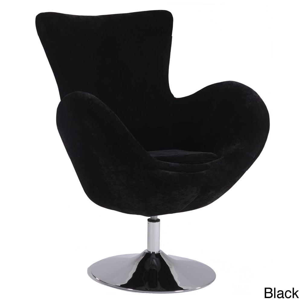 Overstock.com Modern Swivel Arm Fun Chair