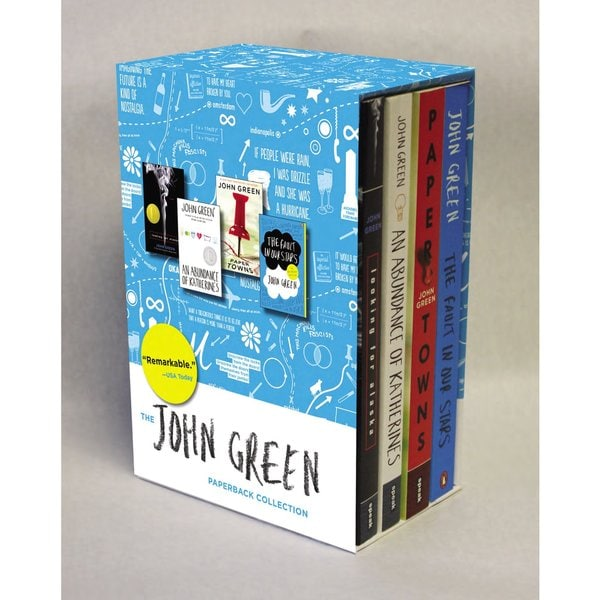 The John Green Paperback Collection: Looking for Alaska / An Abundance of Katherines / Paper Towns / The Fault in... (Paperback) 12686367