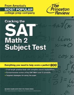 Princeton Review Cracking the Sat Math 2 Subject Test (Paperback)