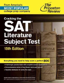Princeton Review Cracking the Sat Literature Subject Test (Paperback)
