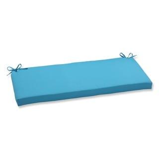 Pillow Perfect Outdoor Veranda Turquoise Bench Cushion