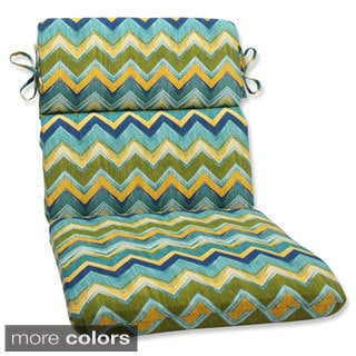 Pillow Perfect Outdoor Tamarama Rounded Corners Chair Cushion