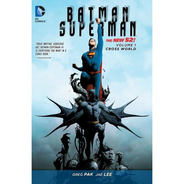 Batman/Superman 1: Cross World (Paperback) 12687006