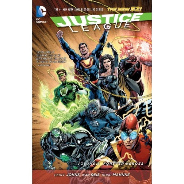Justice League: the New 52 5: Forever Heroes (Hardcover) 12687033