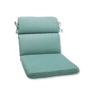 Pillow Perfect Outdoor Green Rounded Corners Chair Cushion