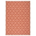 "Nourison Home and Garden Indoor/Outdoor Rust Rug (7'9"" x 10'10"")"