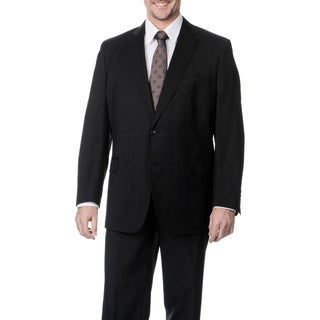 Palm Beach Men's Charcoal Wool 2-button Jacket