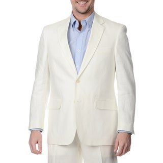 Henry Grethel Men's 2-button Oyster Double Vent Suit Jacket