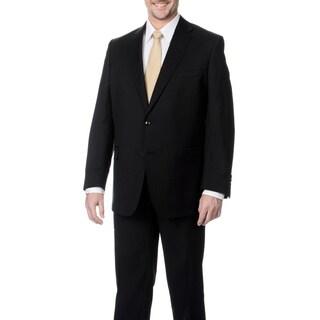 Palm Beach Men's Black 2-button Single Vent Jacket