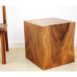 Brown Stain Natural Wax 20-inch Cube (Thailand)