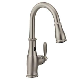 Moen Brantford Stainless Steel Single-handle Pull-down Kitchen Faucet