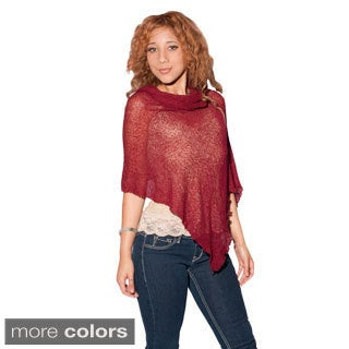 Light Knitted Mela Sleeveless Poncho (Indonesia)