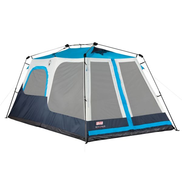 8 Person Instant Cabin Tent : Coleman instant cabin person tent  overstock