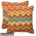 Pillow Perfect Outdoor Tamarama 18.5-inch Throw Pillow (Set of 2)