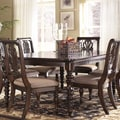 Signature Design by Ashley Key Town Dark Brown Rectangular Dining Room Extension Table