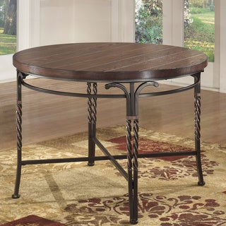 Signature Design by Ashley Sandling Round Dining Room Table