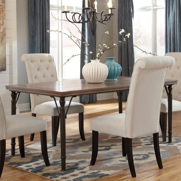 signature design by ashley tripton rectangular dining room