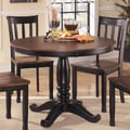 Signature Design by Ashley Round Dining Room Table Base/ Top