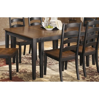 Signature Design by Ashley Owingsville Black/ Brown Dining Room Extension Table