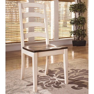 Signature Design by Ashley 'Whitesburg' Two-tone Dining Room Side Chair (Set of 2)