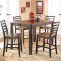 Signature Design by Ashley Alonzo Counter Height Butterfly Extension Table