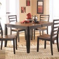 Signature Design by Ashley Alonzo Two-tone Butterfly Dining Table