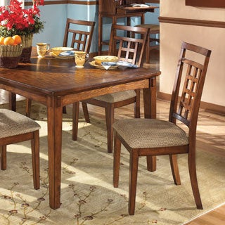 Signature Design by Ashley Cross Island Oak Dining Side Chair (Set of 2)