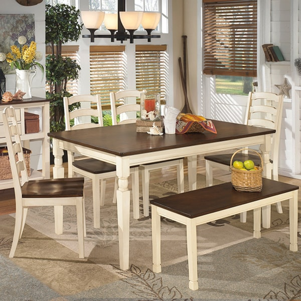 Signature Design by Ashley Whitesburg Rectangular Dining  : Signature Design by Ashley Whitesburg Rectangular Dining Room Table a1a93f49 f4a1 4413 a3ff ddbb4f76a91c600 from www.overstock.com size 600 x 600 jpeg 99kB