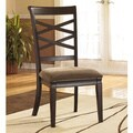 Signature Design by Ashley 'Hayley' Dark Brown Side Chair (Set of 2)