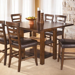 Signature Design by Ashley 'Pinderton' Square Dining Room Extendable Table