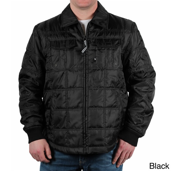 Alexander Julian Men's Quilted Shirt Jacket