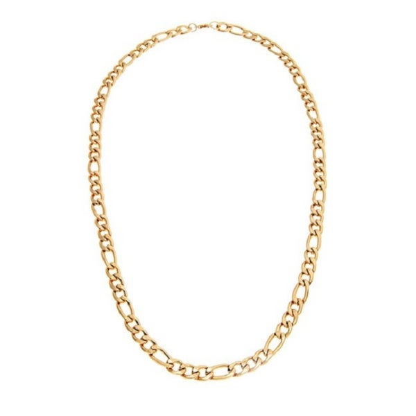 Alexa Starr Long Figaro Chain Necklace