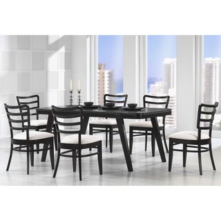 Baxton Studio 'Coventa' 7-piece Wenge Dining Set with Two Bonus Dining Chairs