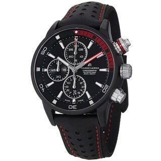 Maurice Lacriox Men's PT6028-ALB01-331 'Pontos Extreme' Black Dial Black Nato Strap Watch