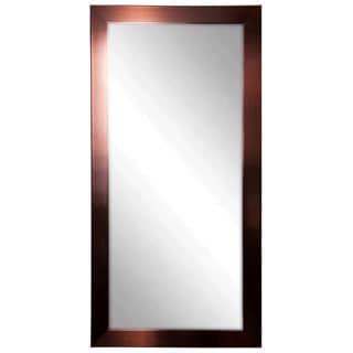 Americn Made Rayne Shiny Copper Bronze Tall Mirror