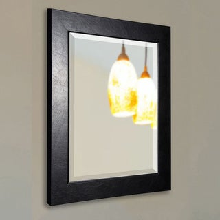 American Made Rayne Black Superior Beveled Wall Mirror