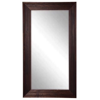 American Made Rayne Brown Barnwood Tall Mirror