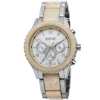 August Steiner Women's Swiss Quartz Multifunction Bracelet Watch