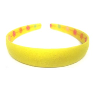 Lemon Yellow 3/4-inch Headband