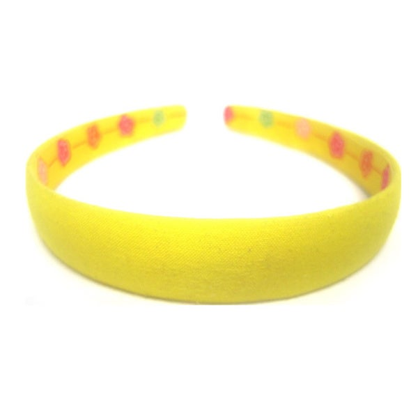 Crawford Corner Shop Lemon Yellow 3/4-inch Headband