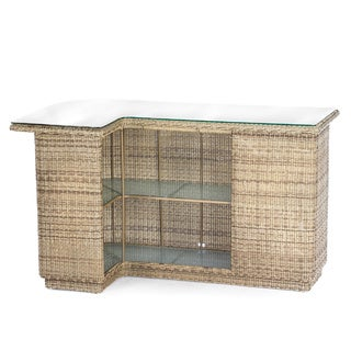 Delmar Wicker Bar Counter