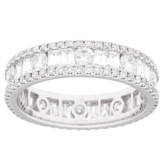 18k White Gold 2 1/3ct TDW Diamond Eternity Ring (G-H, SI2-I1)