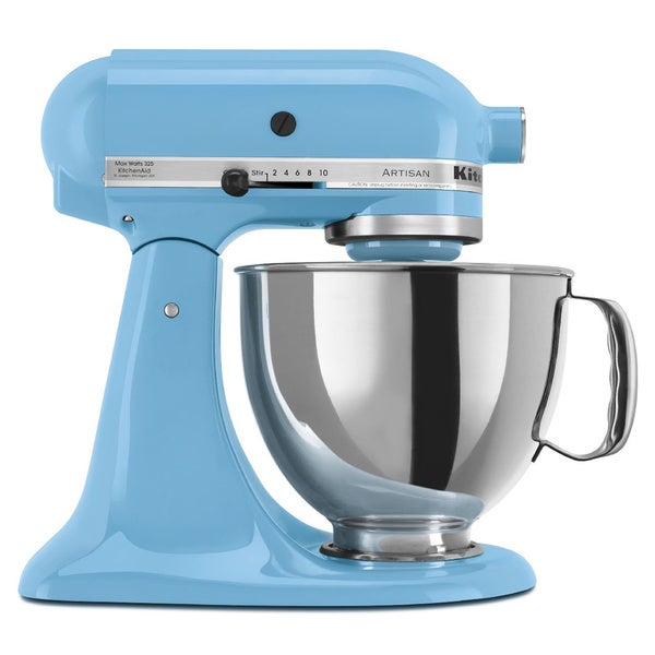 KitchenAid RRK150CL Crystal Blue 5-quart Artisan Tilt-head Stand Mixer (Refurbished)