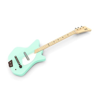 Electric Loog Green Guitar