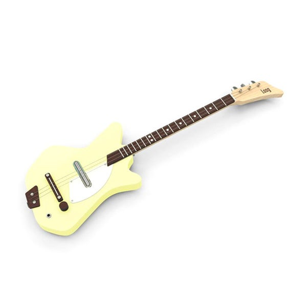 Electric Loog Yellow Guitar