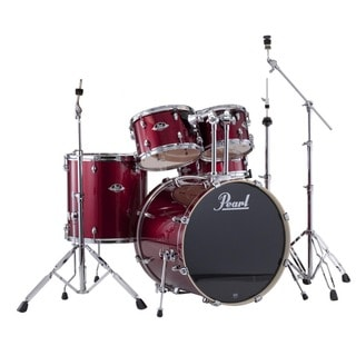 Pearl Export Red Wine 5-piece Drum Kit